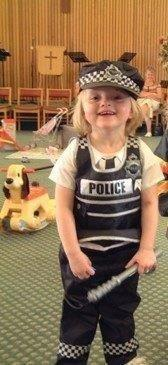 """""""Before"""" I want to be a police officer !"""